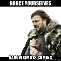 nanowrimoiscoming